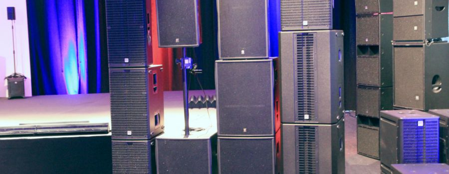 Estreya - Rental of sound equipment